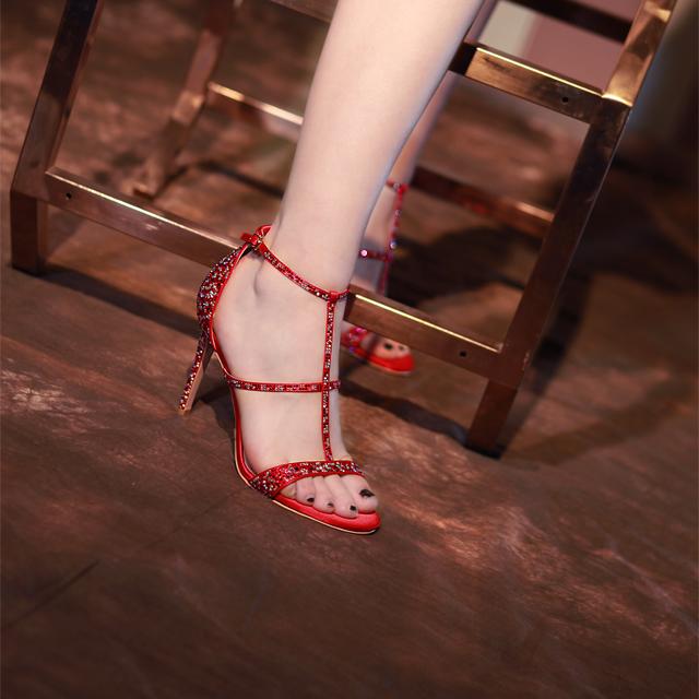 意大利丝绸大凉-红